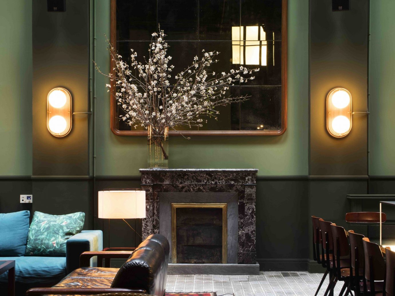 Hotels indoor wall floor room chair dining room living room interior design lighting home Lobby estate Design ceiling window covering furniture decorated
