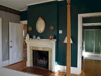 Fireplace fire living room flat