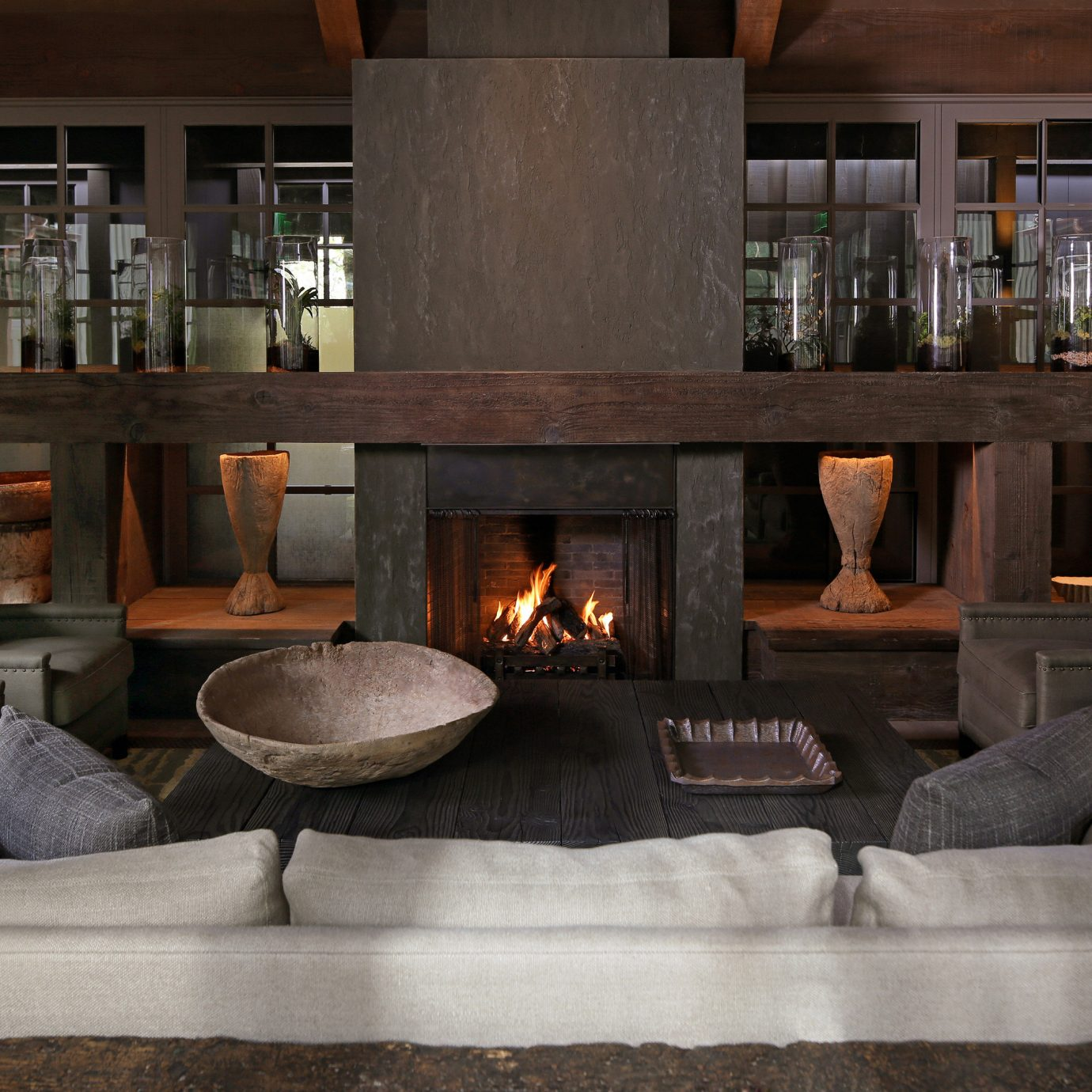 hearth Fireplace living room Lobby wood burning stove