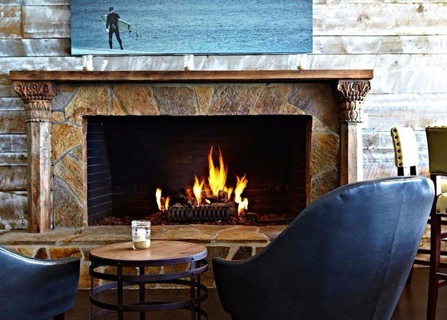 chair Nature Fireplace hearth building candle living room home cottage stone