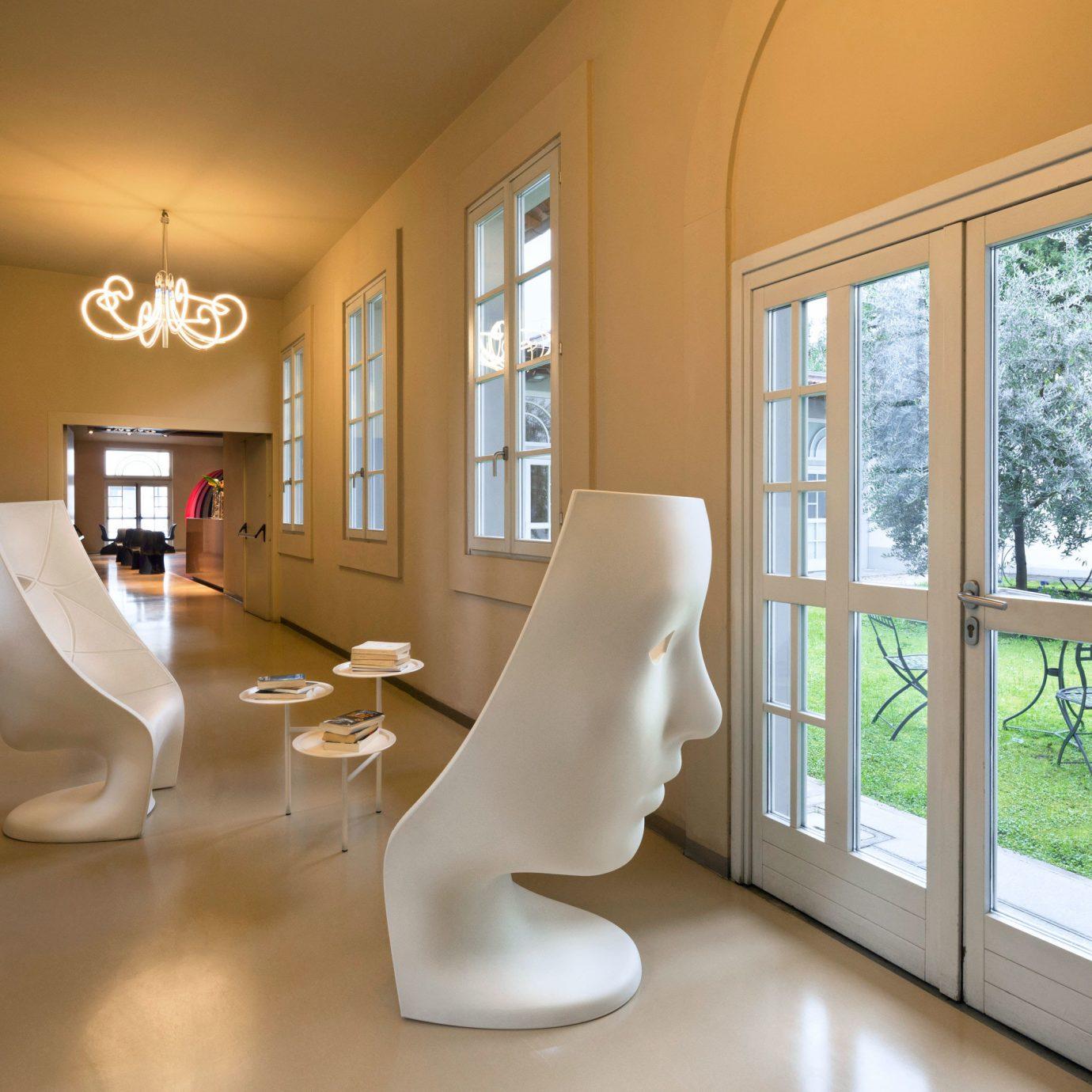Florence Hip Hotels Italy Lounge property living room home hardwood flooring Modern