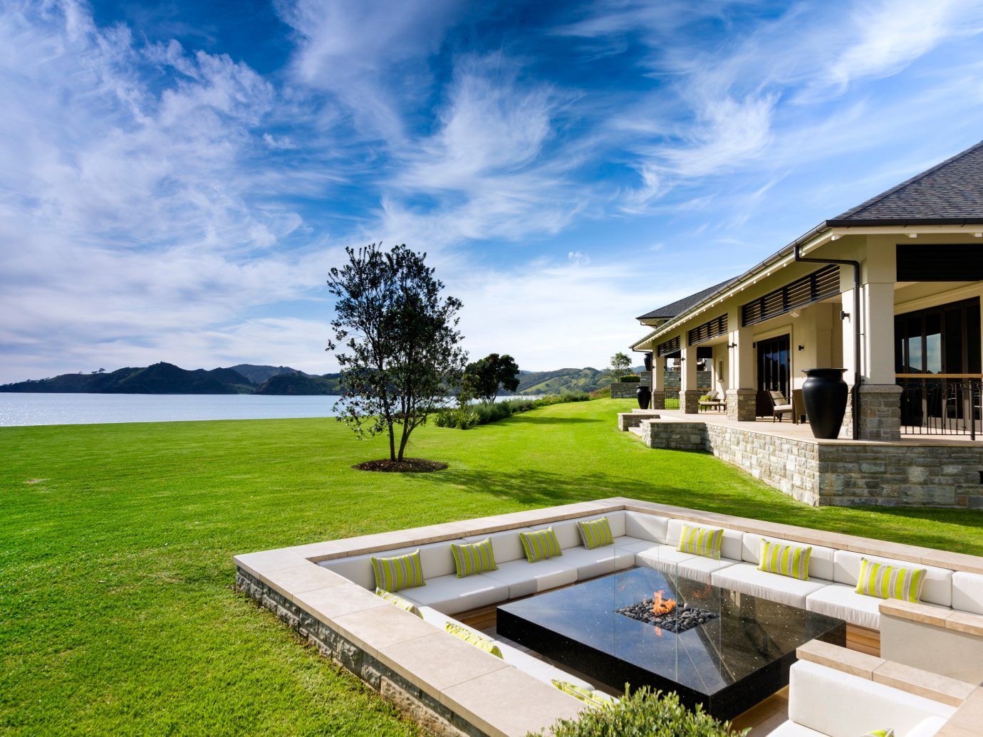 Hotels grass sky outdoor property house estate home vacation Villa real estate residential area swimming pool Resort backyard mansion