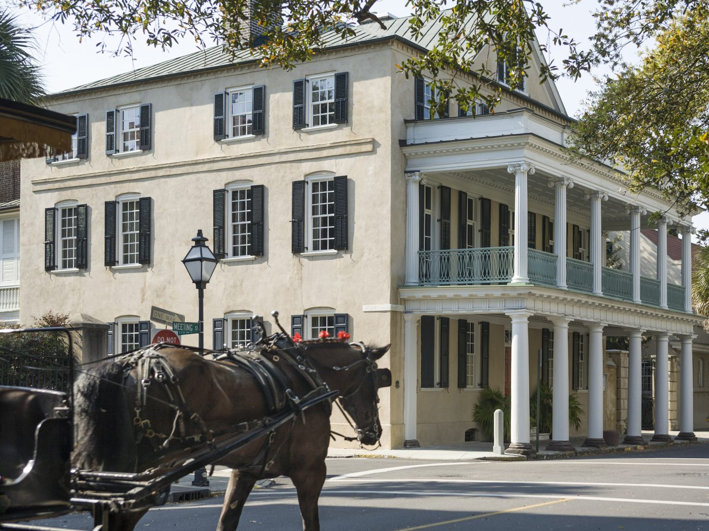 Trip Ideas building carriage outdoor horse road drawn pulling tree street driving cart pulled transport vehicle house horse-drawn vehicle home horse and buggy tourist attraction attached