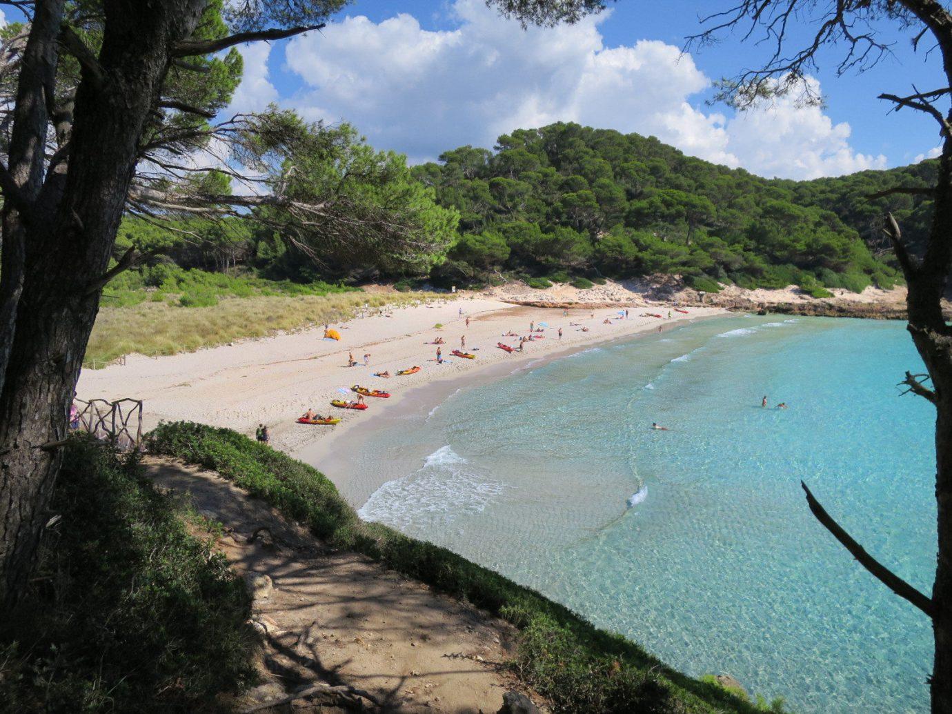 Trip Ideas tree outdoor water sky Beach Nature body of water Coast Sea shore vacation bay River cove tropics Lagoon lined