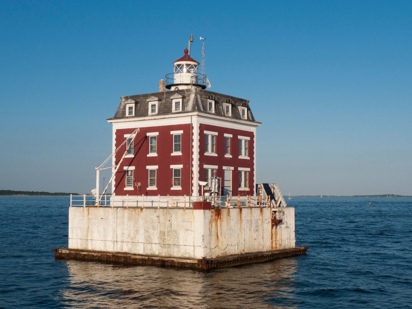 Trip Ideas water sky outdoor Boat tower lighthouse Sea vehicle watercraft ship Ocean channel transport Coast ferry Harbor