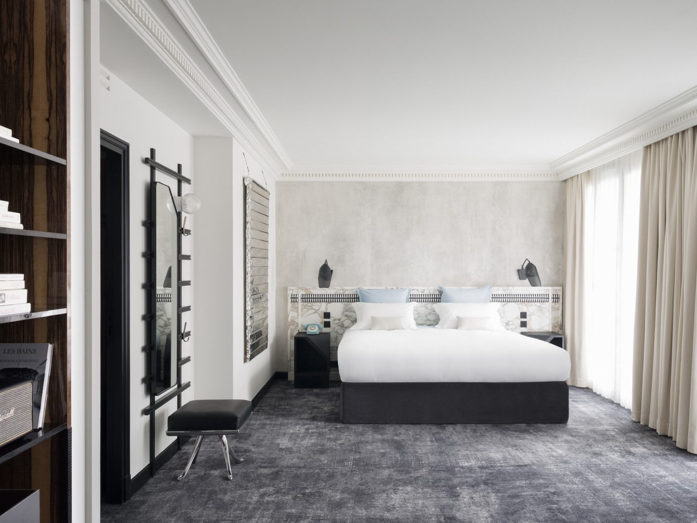 Boutique Hotels Hotels indoor floor wall room property Living living room interior design home real estate estate Bedroom white Suite Design condominium furniture apartment
