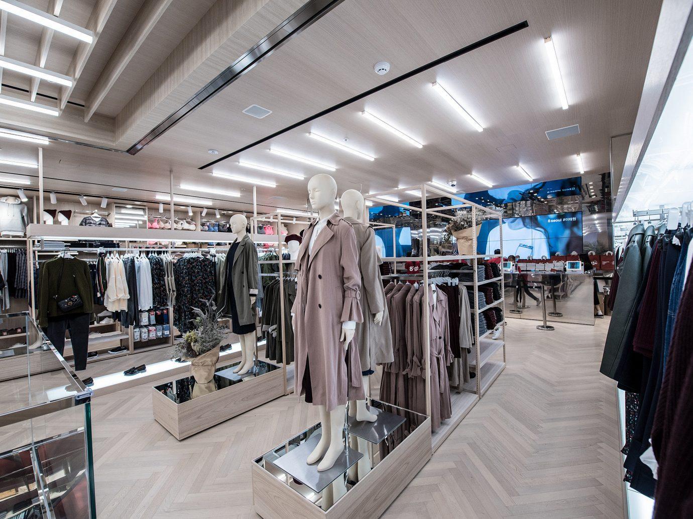 Seoul Style + Design Travel Shop indoor ceiling retail metal Boutique area