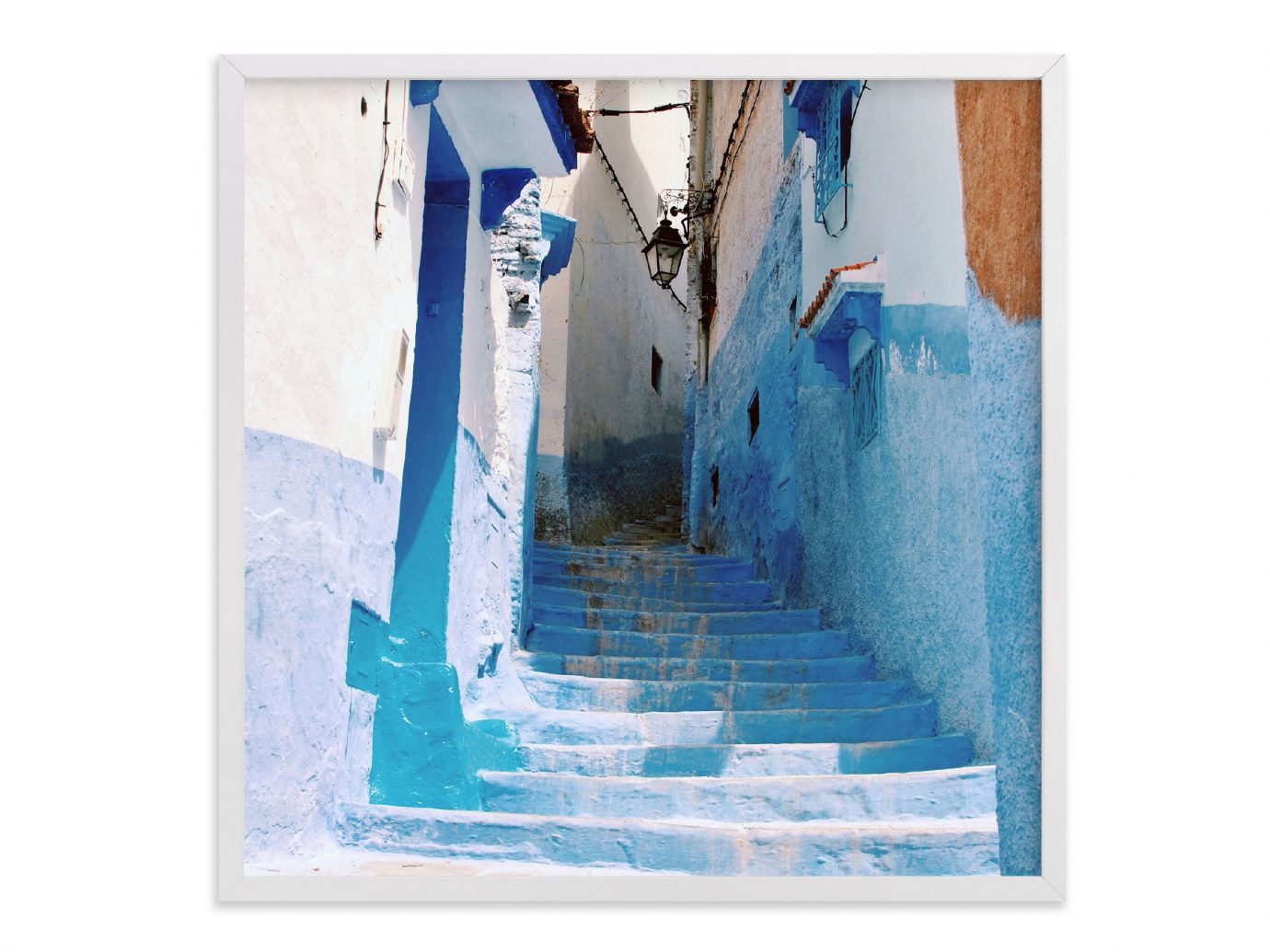 Style + Design blue painting modern art art picture frame sketch brand illustration acrylic paint