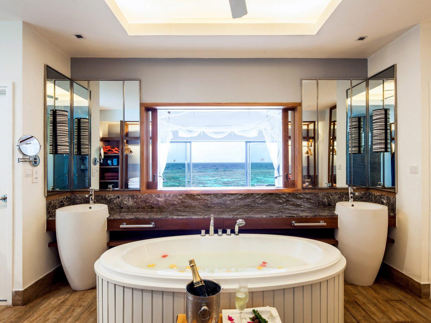 All-Inclusive Resorts Hotels indoor window floor ceiling room bathroom home interior design real estate estate Suite living room furniture