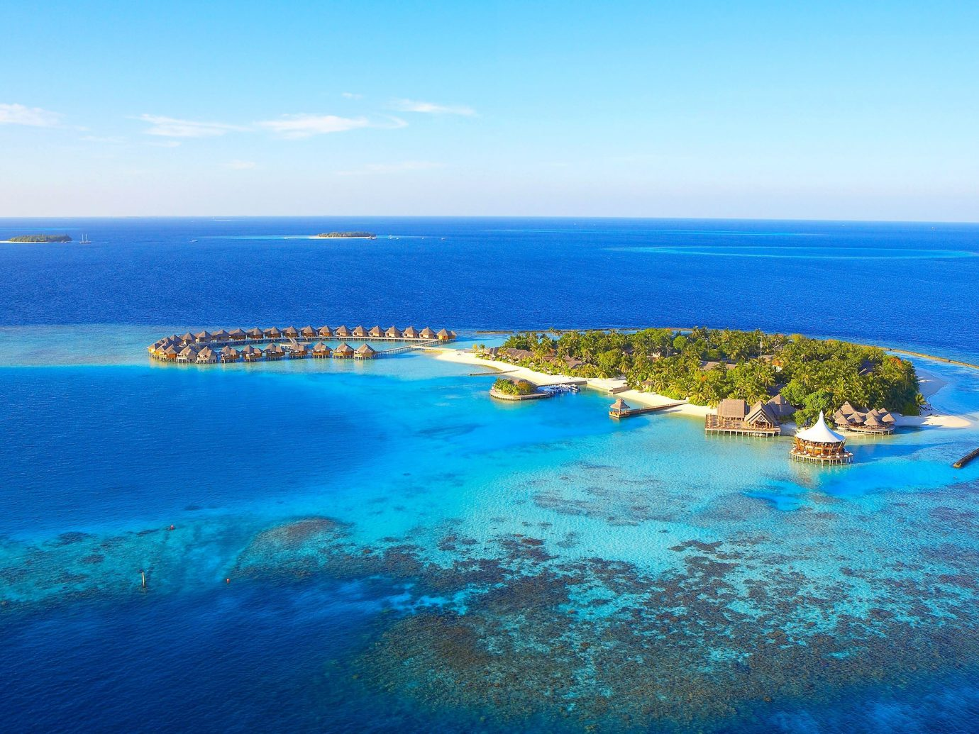 Trip Ideas water sky Nature blue reef Ocean outdoor geographical feature landform Sea archipelago horizon Coast islet caribbean Beach bay Island Lagoon cape atoll swimming Resort cove clear shore
