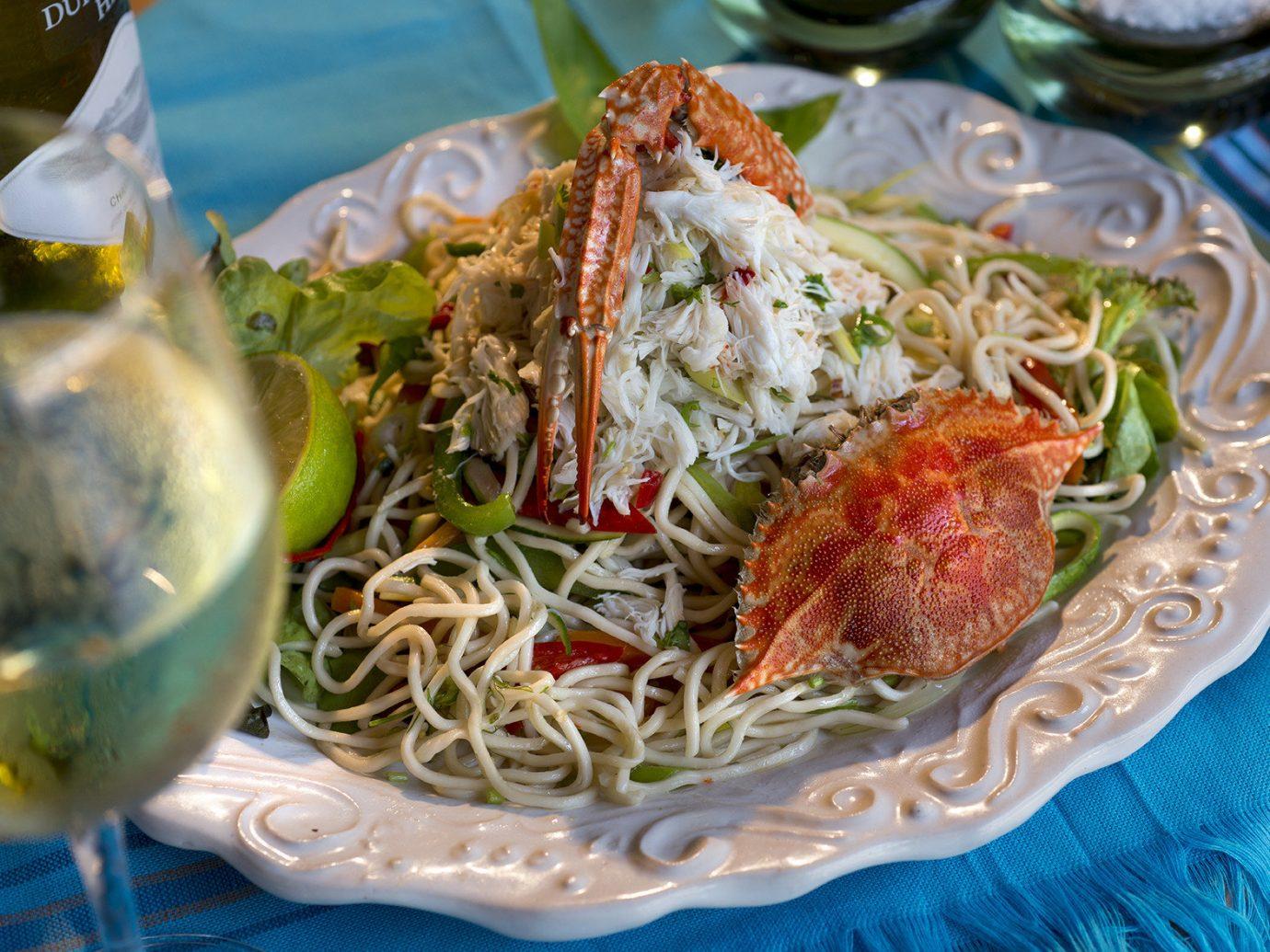 Trip Ideas food dish plate cuisine spaghetti asian food noodle produce thai food southeast asian food Seafood meal