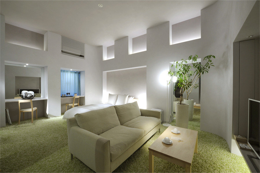 Hotels Japan Tokyo indoor wall floor ceiling room property living room condominium Living interior design estate real estate home hotel furniture Suite Bedroom apartment Villa cottage area Modern