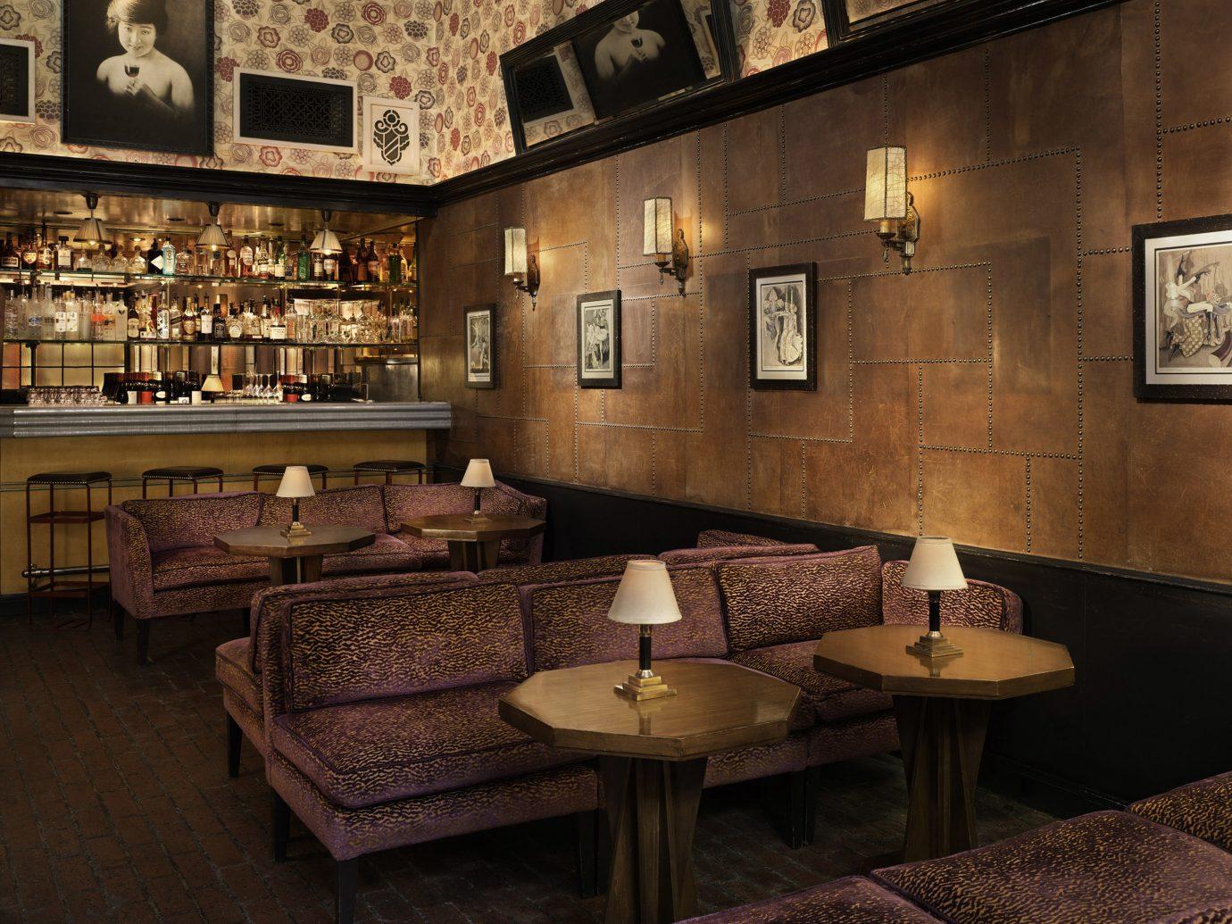 Celebs Hotels Offbeat Trip Ideas floor indoor room Bar estate interior design restaurant furniture