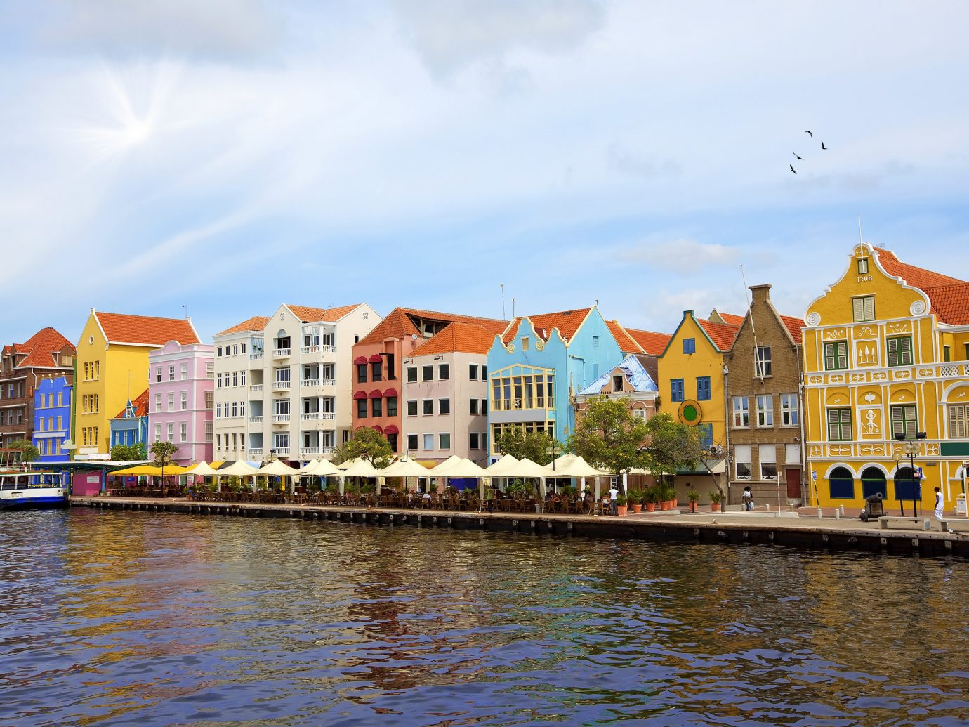 Trip Ideas sky outdoor water Boat Town body of water scene River Harbor cityscape vacation waterway tourism Sea vehicle reflection Canal