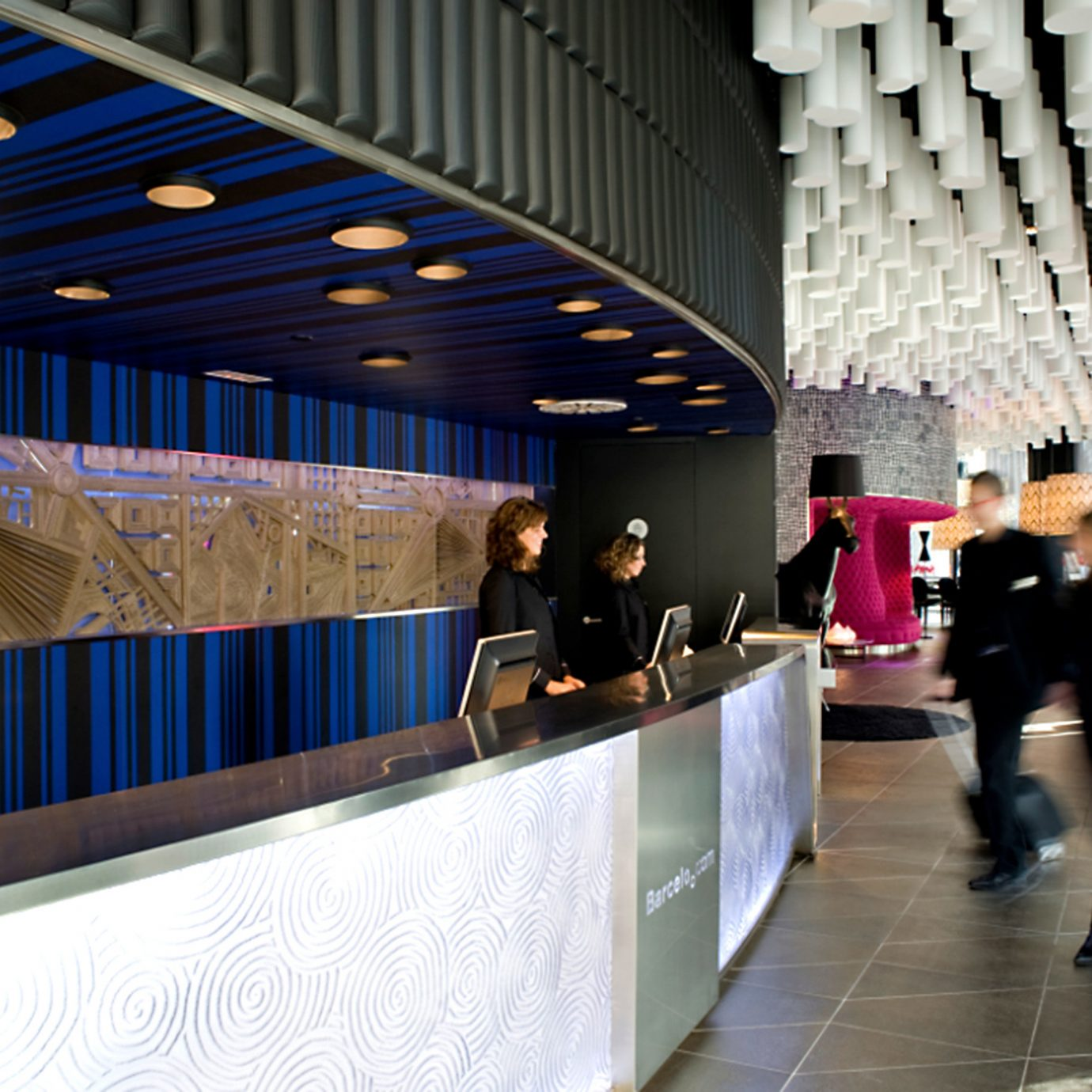 Hip Lobby Lounge Modern public transport tourist attraction