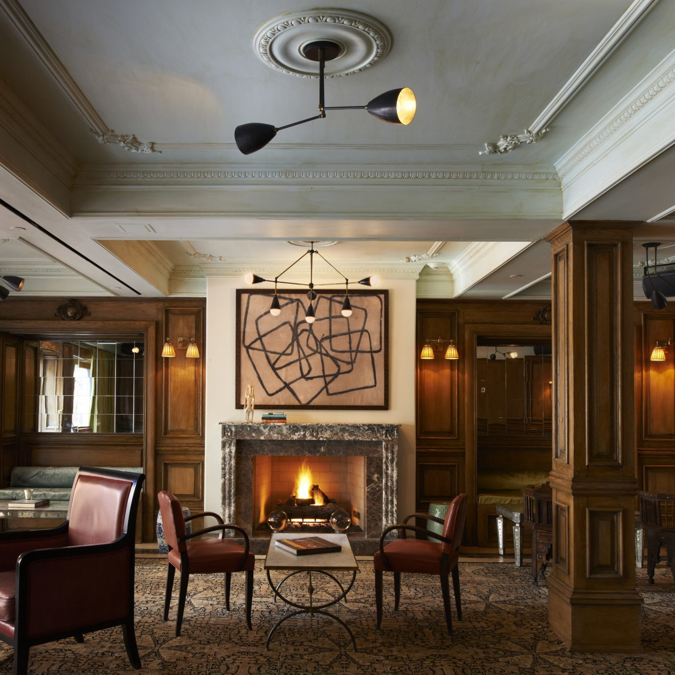 Hotels Luxury Travel Romantic Hotels chair Lobby property home lighting living room mansion restaurant