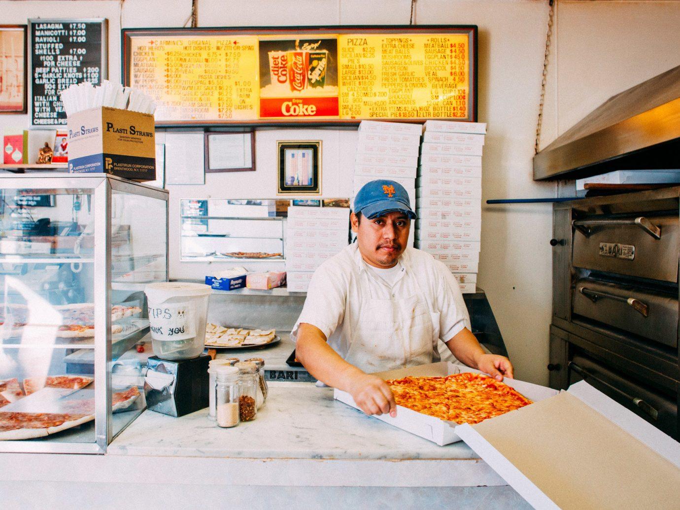 Food + Drink food person indoor bakery fast food dish cook cuisine restaurant sense baker fast food restaurant preparing