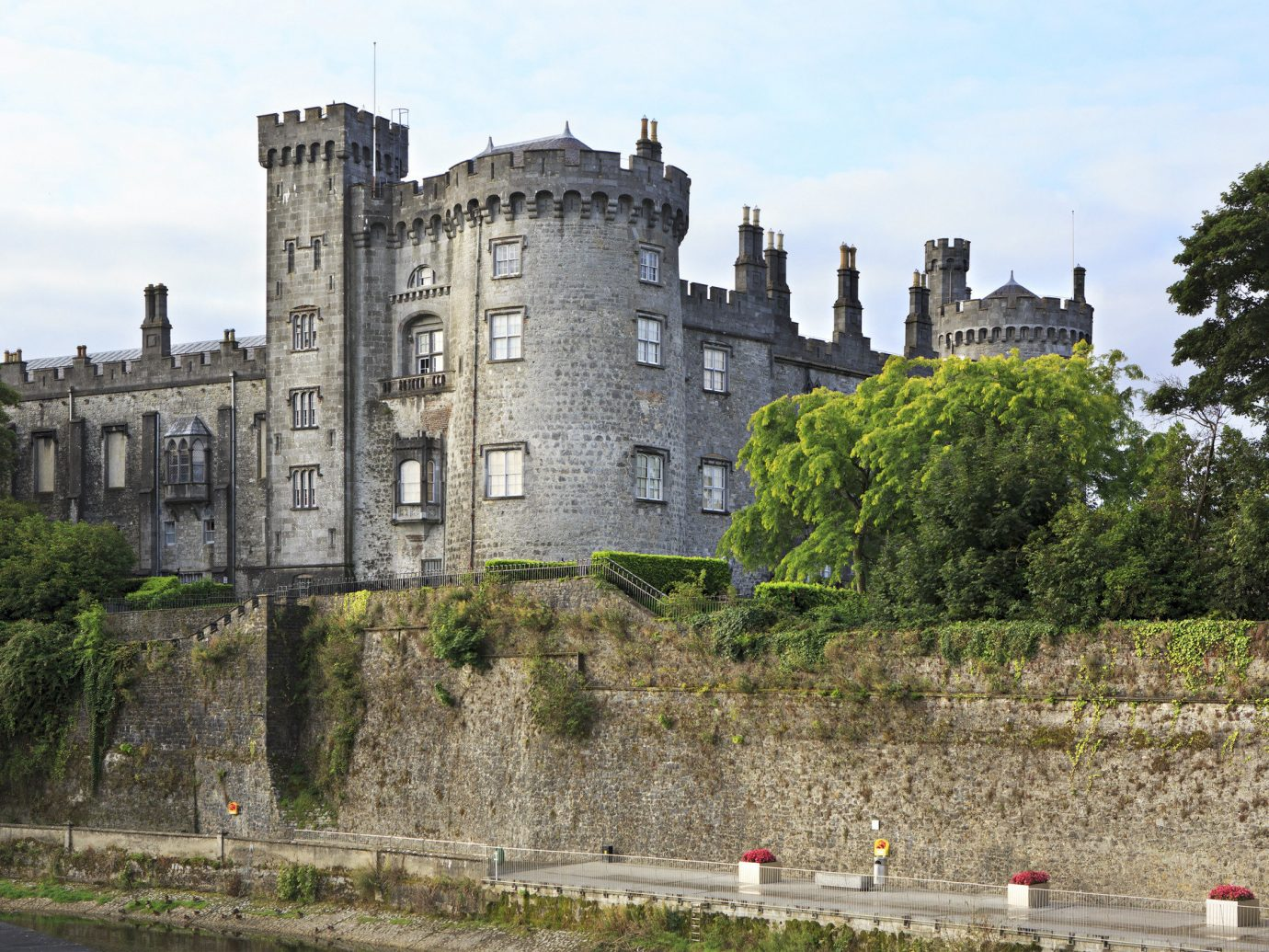 Dublin Ireland Trip Ideas building tree outdoor sky castle medieval architecture château stately home tours fortification estate national trust for places of historic interest or natural beauty moat old