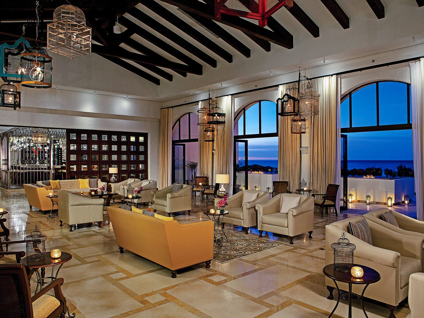 Lobby at Secrets Puerto Los Cabos Golf & Spa Resort