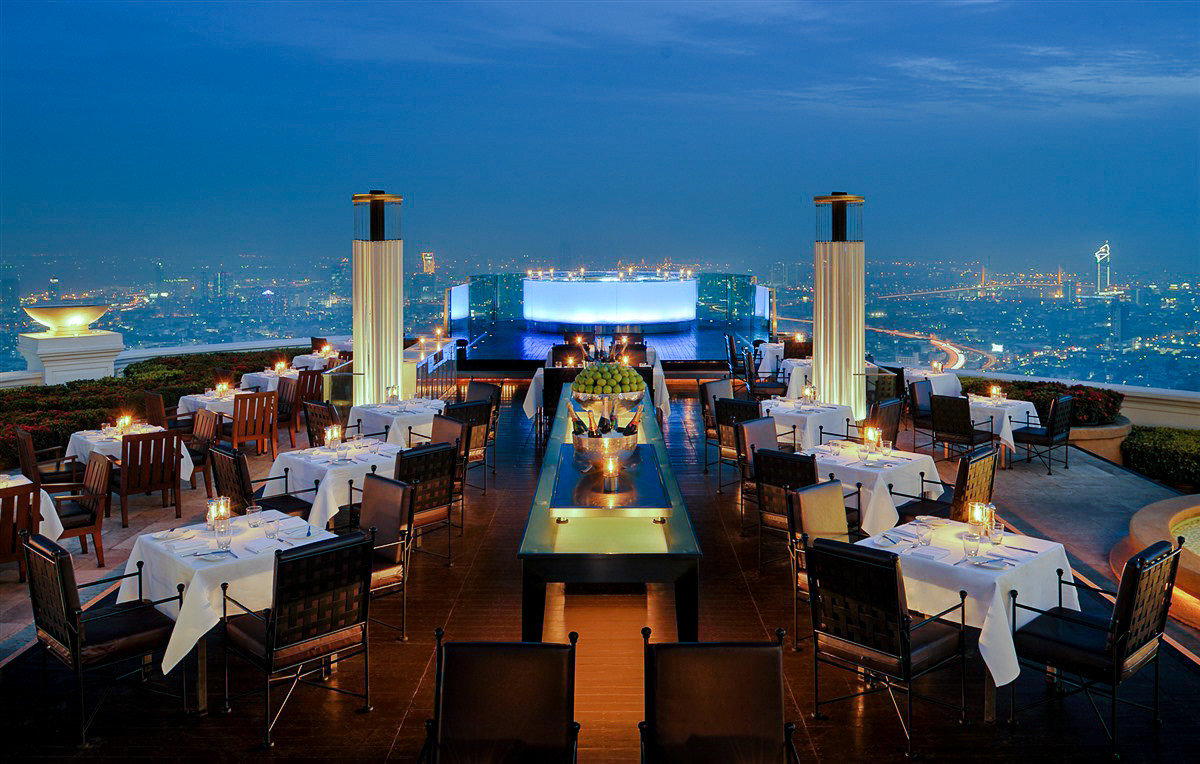 Rooftop at Siccoro at Lebua at State Tower