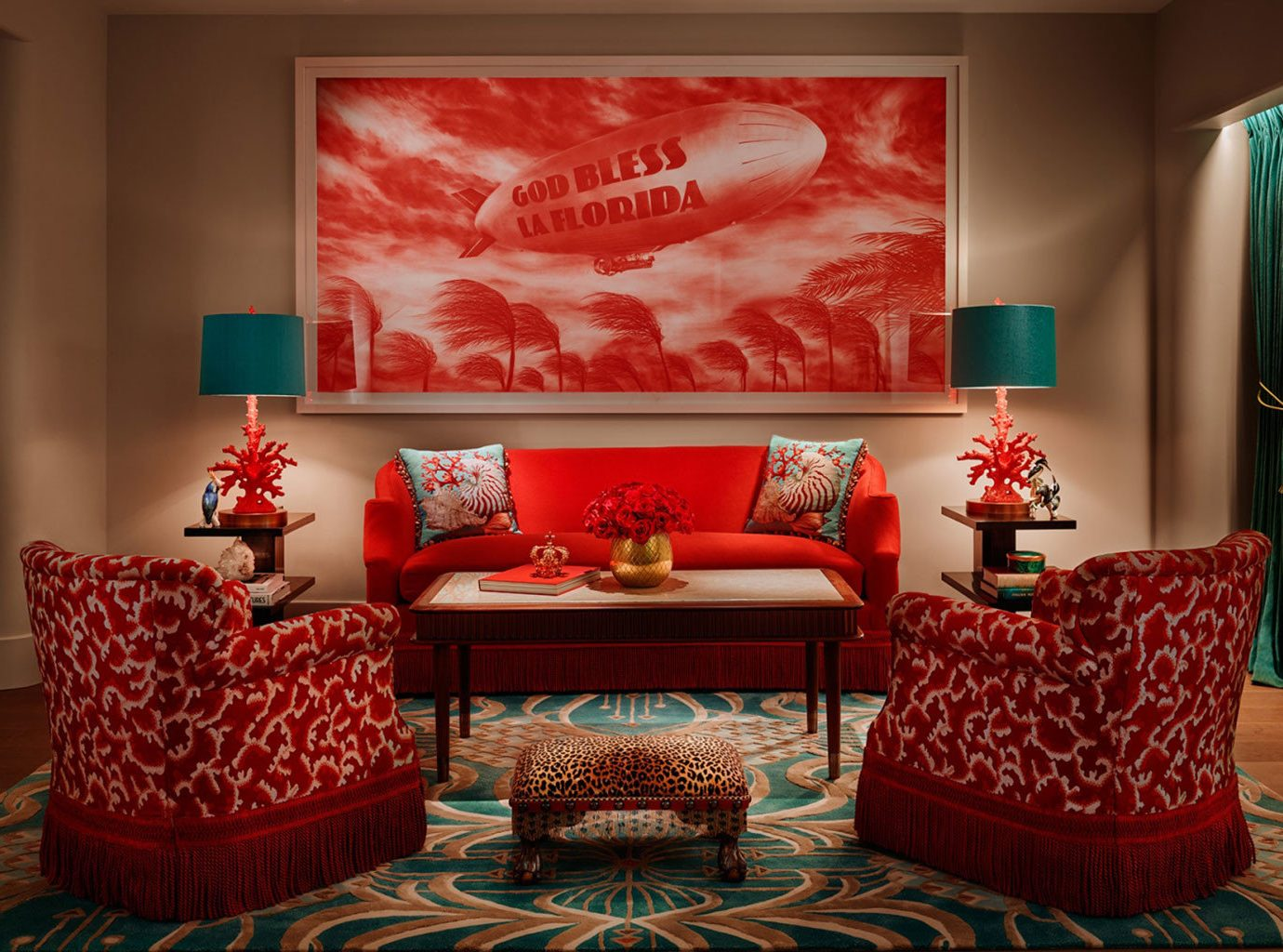 Hotels wall indoor room red living room Living interior design modern art home Design Suite area decorated furniture