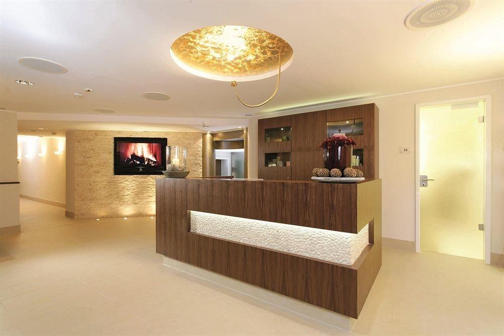 property Lobby home living room receptionist Modern flat Island