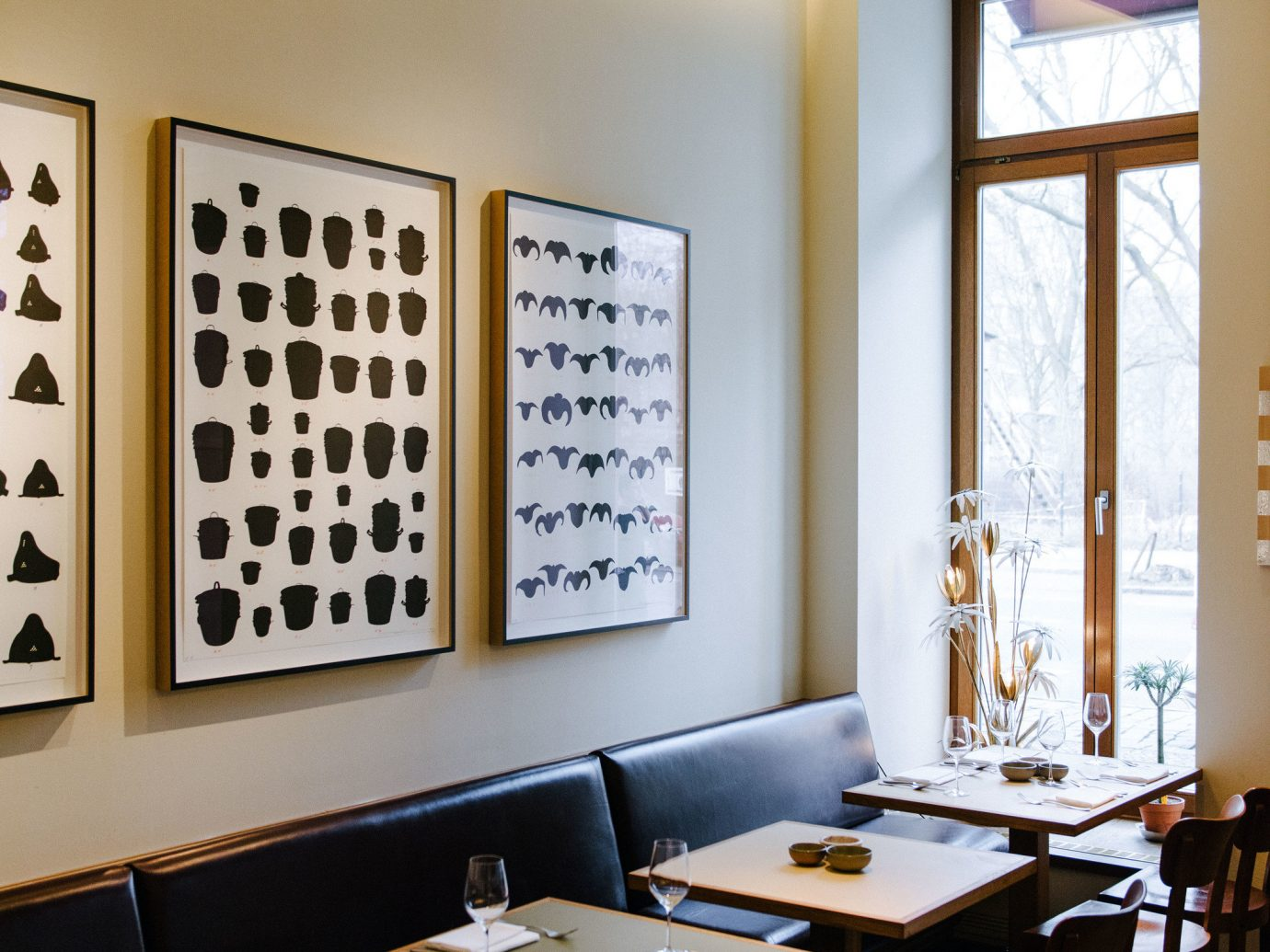 Trip Ideas indoor wall floor ceiling window restaurant room table interior design furniture café