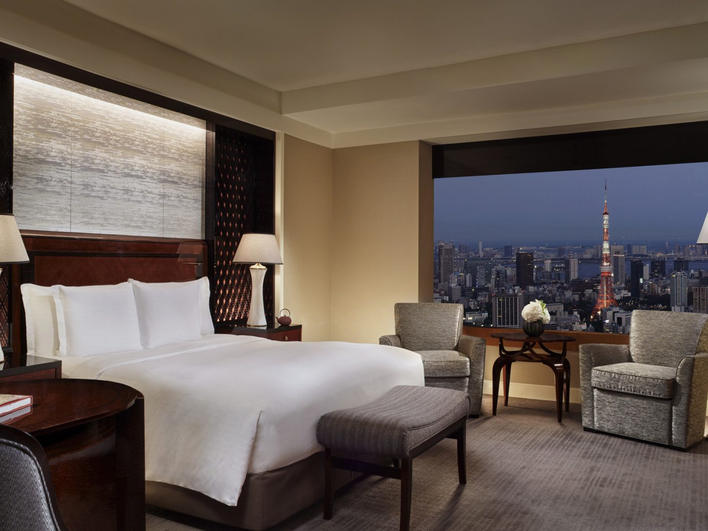 Hotels Japan Romance Tokyo indoor floor room wall ceiling hotel chair property Living Suite estate living room home Bedroom interior design real estate nice cottage condominium furniture area decorated