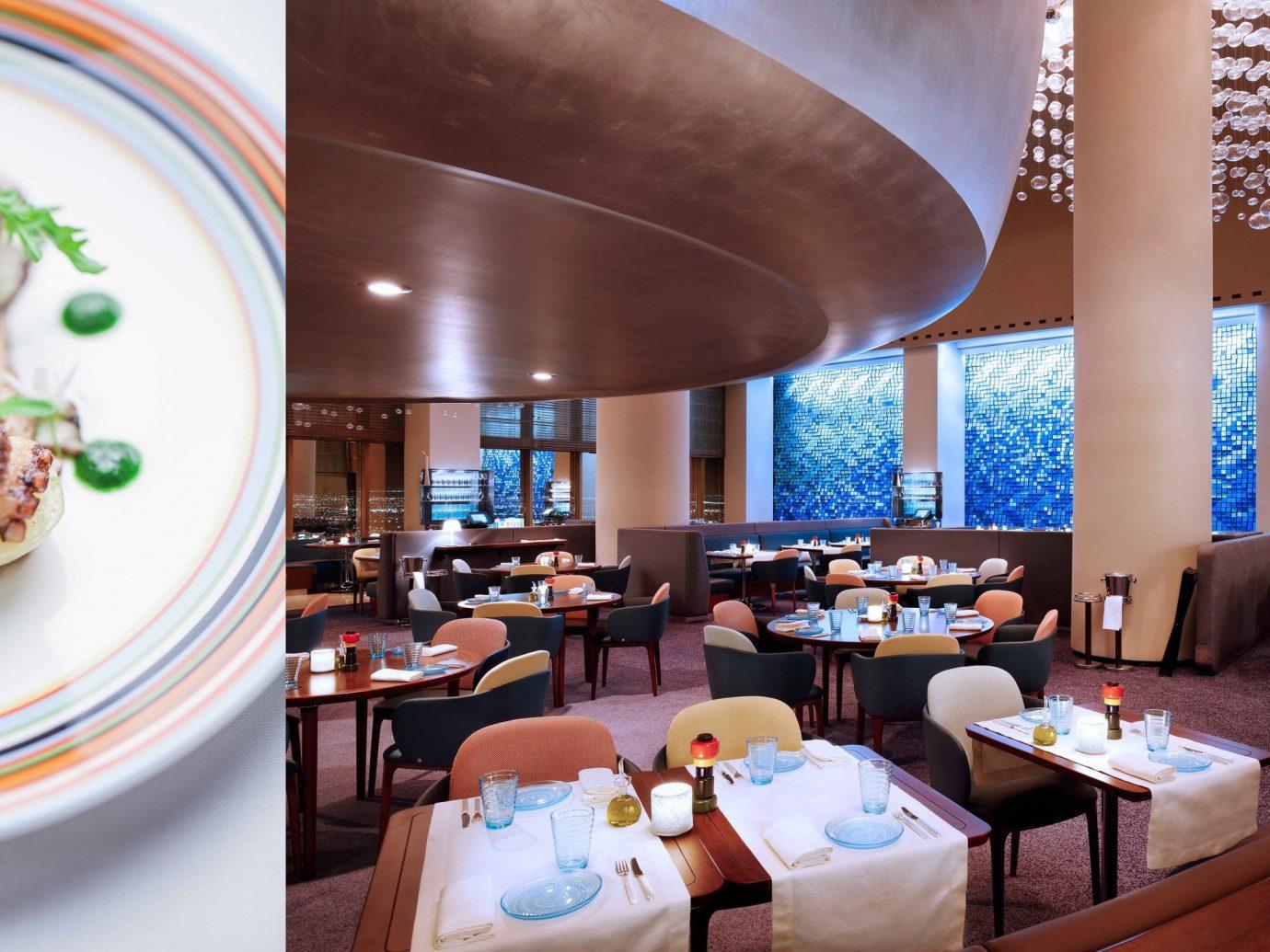 Food + Drink table indoor plate meal restaurant brunch function hall lunch Resort several