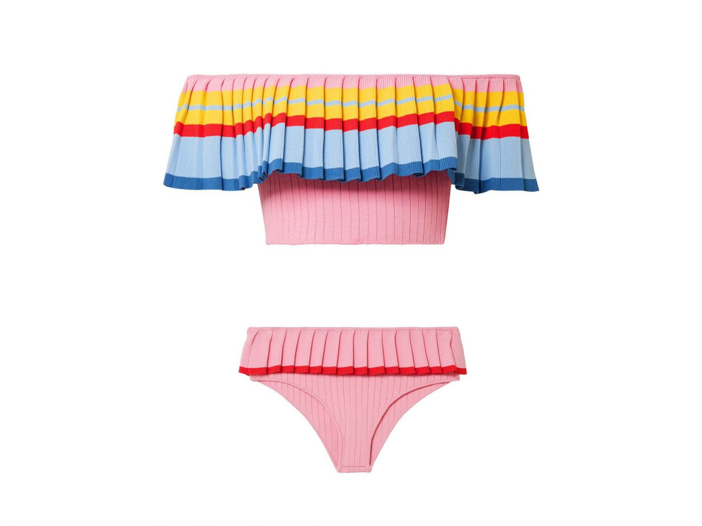 Style + Design Travel Shop pink briefs undergarment swimsuit bottom underpants product angle