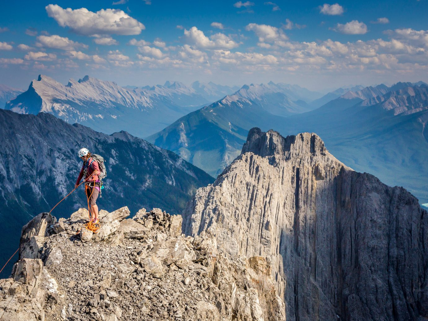 Travel Tips mountain outdoor sky Nature valley canyon mountainous landforms snow mountain range landform geographical feature wilderness standing ridge alps Adventure outdoor recreation mountaineering extreme sport sports walking hill recreation summit plateau hillside