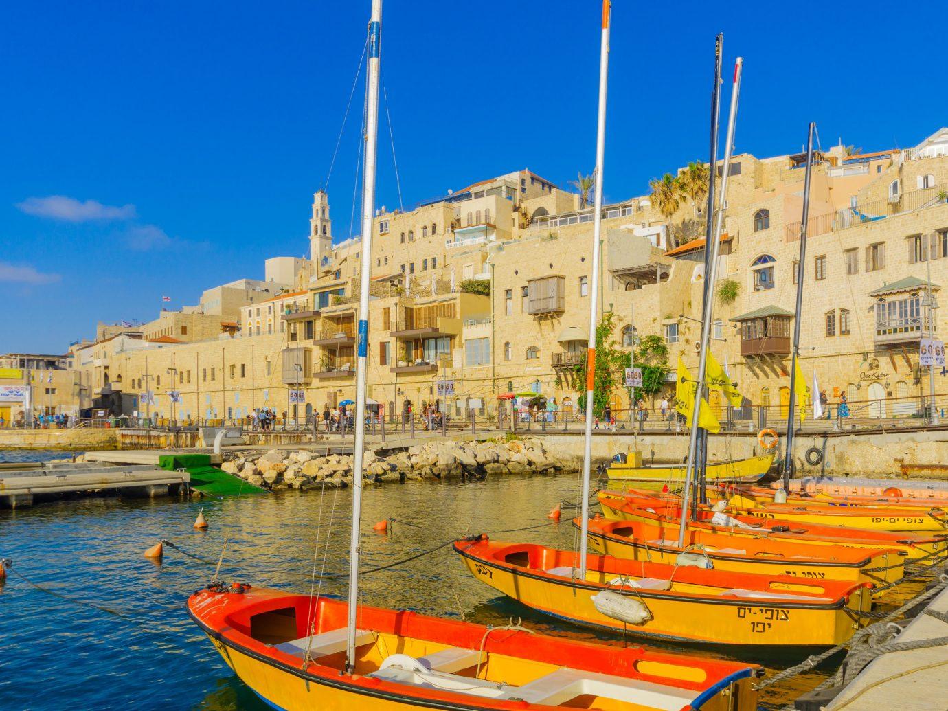 Arts + Culture Trip Ideas Harbor sky Sea port water marina Boat tourism watercraft City Coast channel