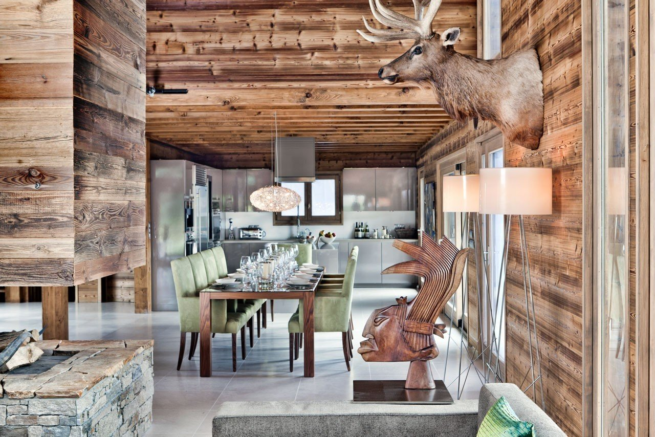 Hotels Luxury Travel Mountains + Skiing Trip Ideas indoor room wooden Living estate wood home interior design furniture
