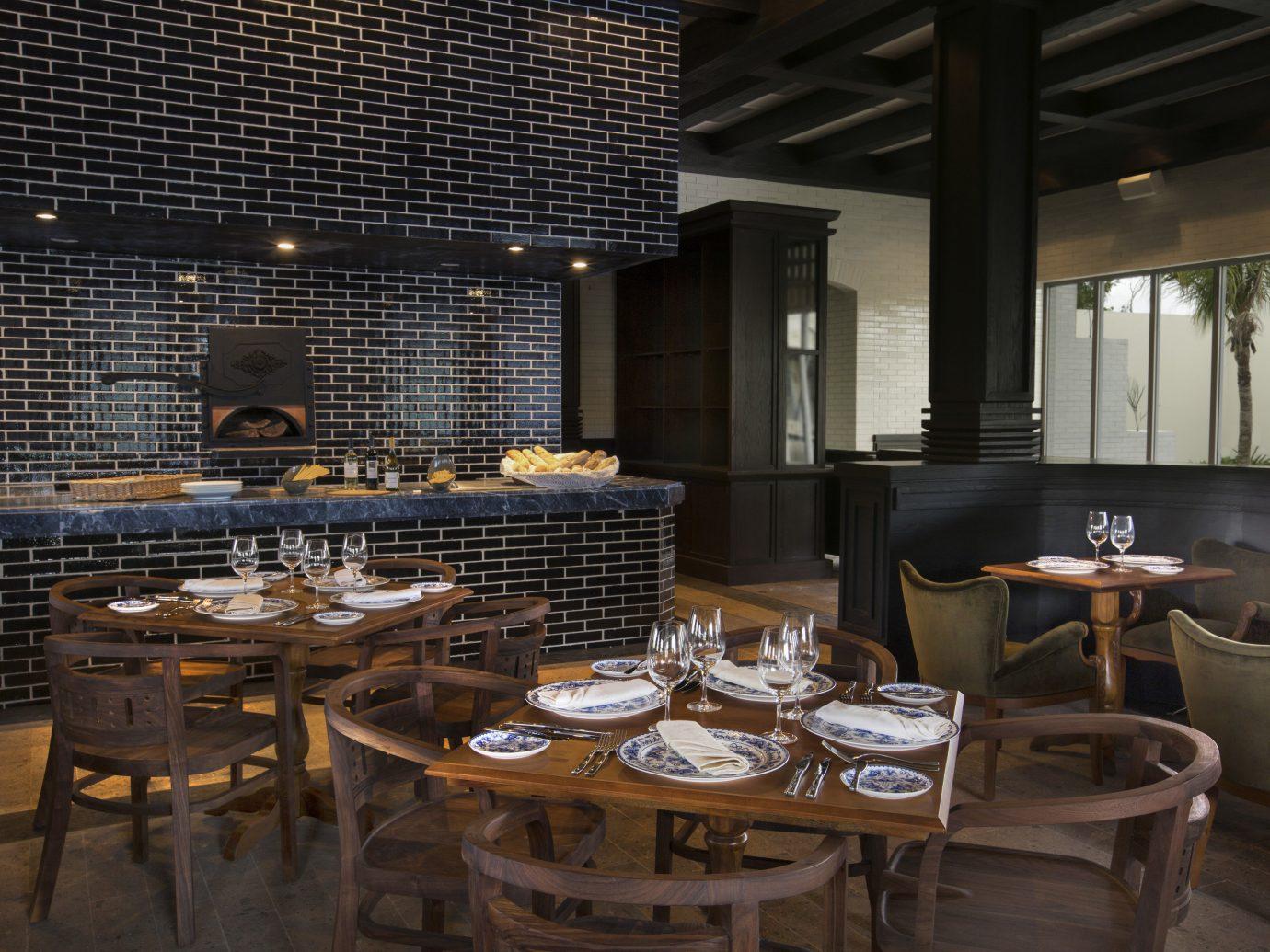 All-Inclusive Resorts Hotels Romance table indoor floor room window chair restaurant dining room meal interior design estate lighting Bar Dining set furniture