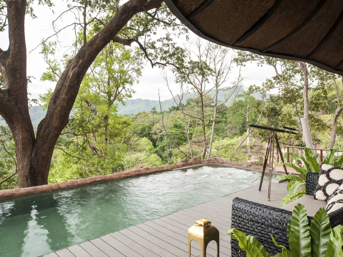 Private pool at Keemala, Phuket, Thailand