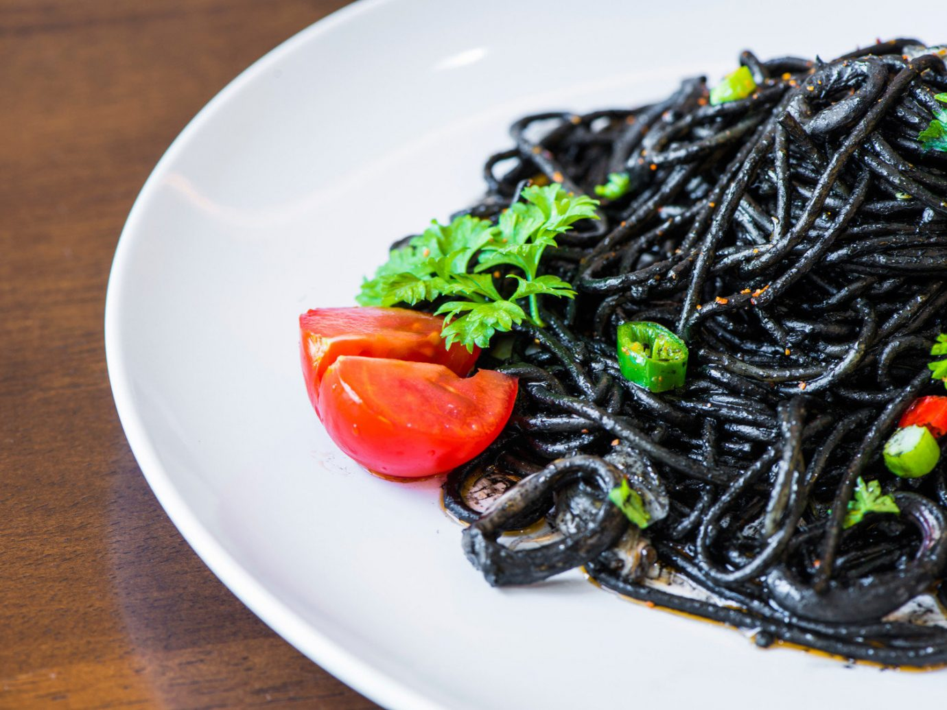 Arts + Culture plate table food dish produce vegetable cuisine asian food seaweed algae meat meal colorful sliced arranged