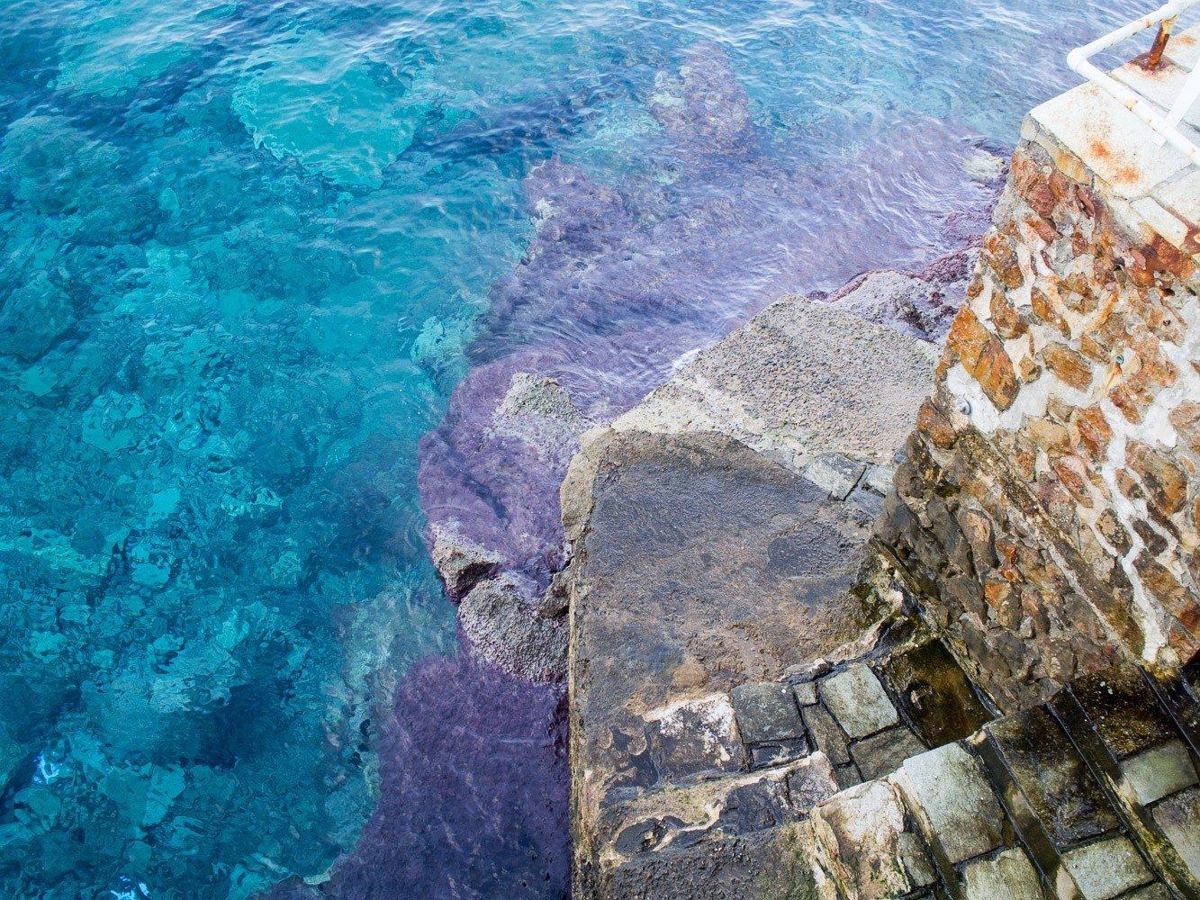 Travel Tips Sea aerial photography rock Ocean Coast cliff terrain geology ocean floor