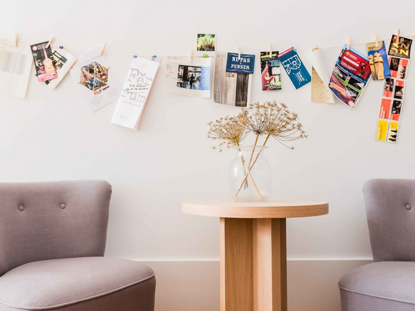 Hotels wall indoor art interior design Design furniture seat sofa colored