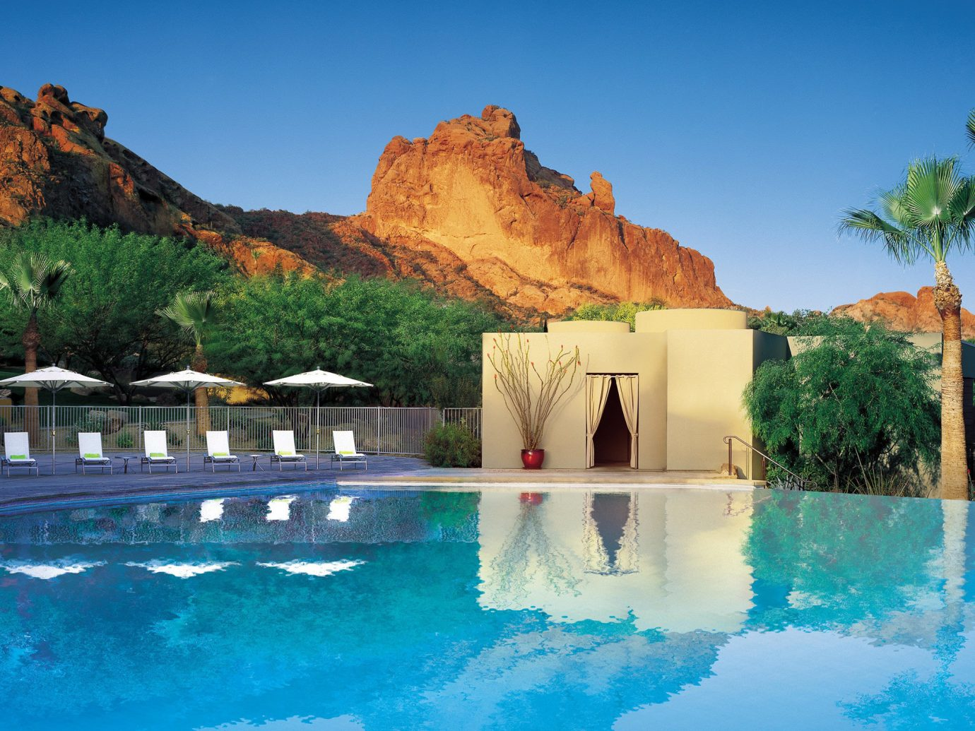 Pool at Sanctuary on Camelback Mountain Resort and Spa