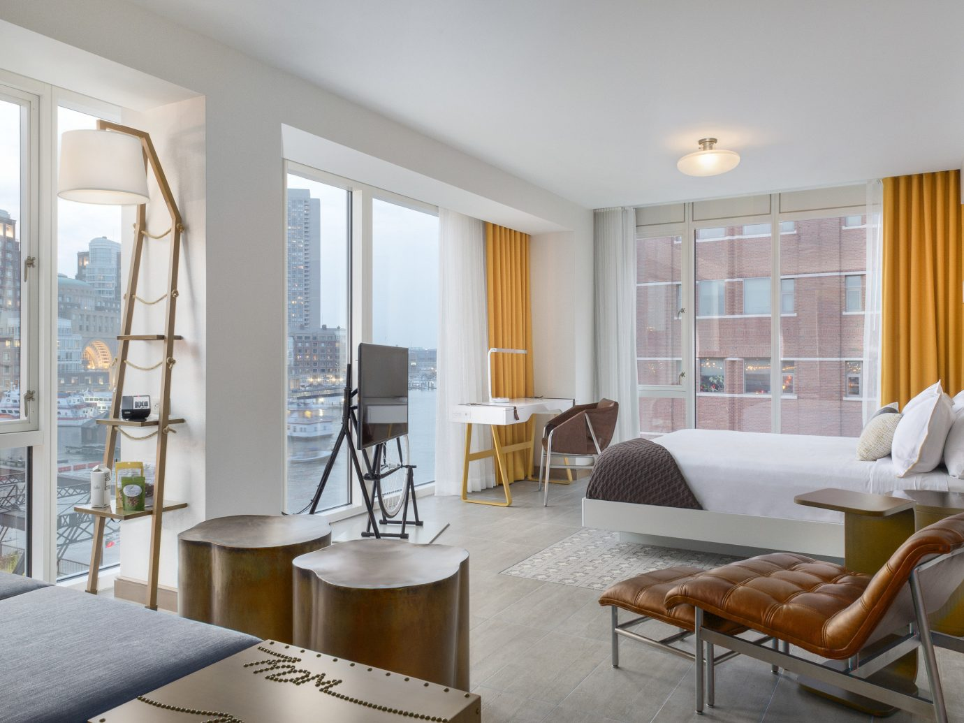 Bedroom of Fairmont Copley Plaza Hotel in Boston