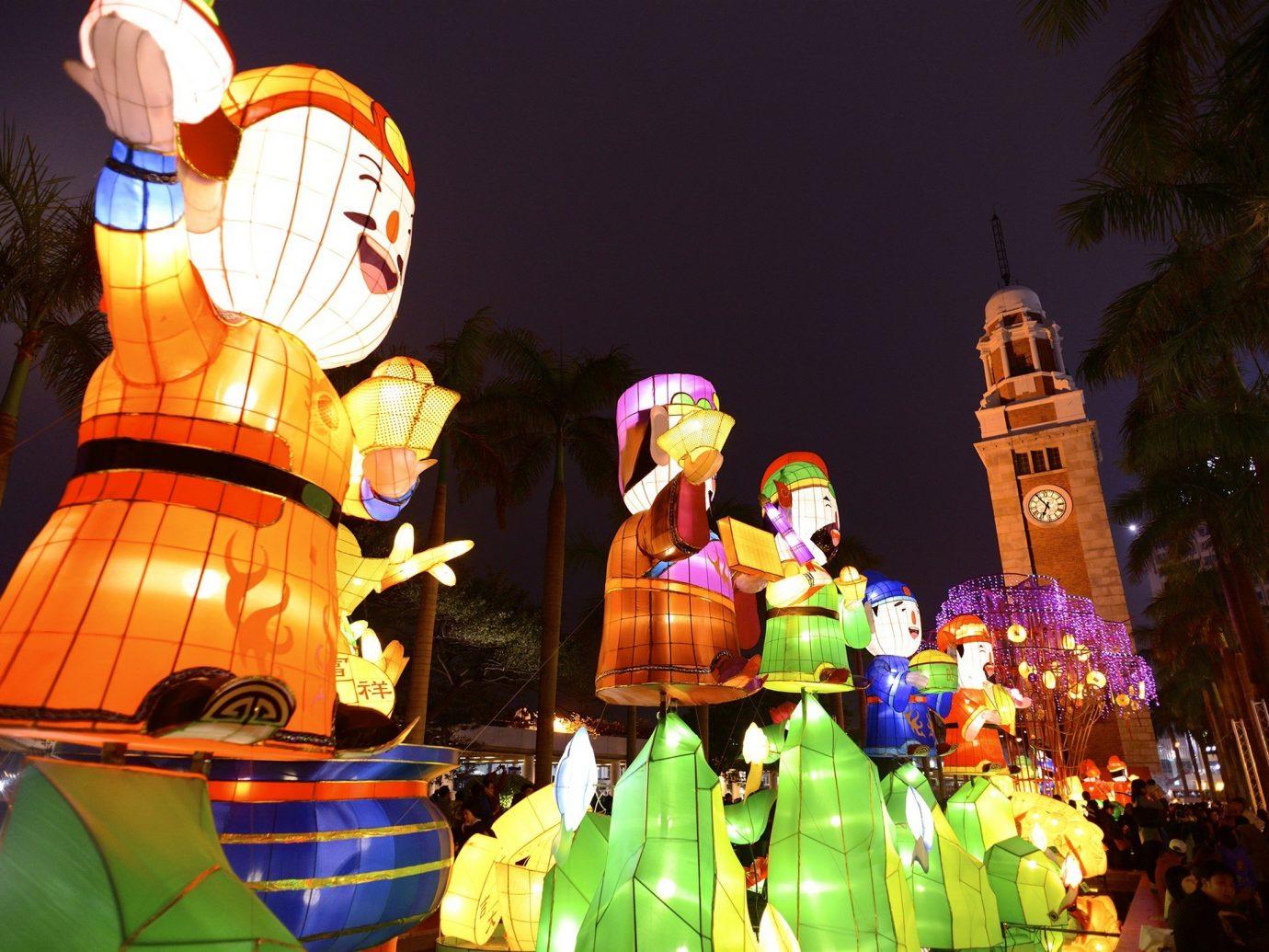 Trip Ideas color night amusement park carnival Resort festival colorful colored