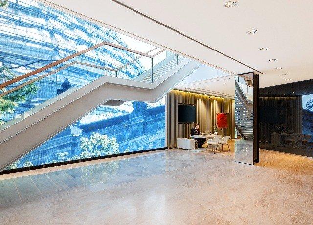 building property Lobby home condominium daylighting headquarters