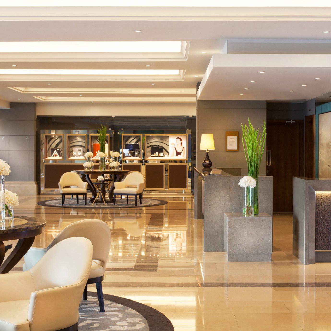 Lobby Lounge Resort property living room home condominium lighting dining table