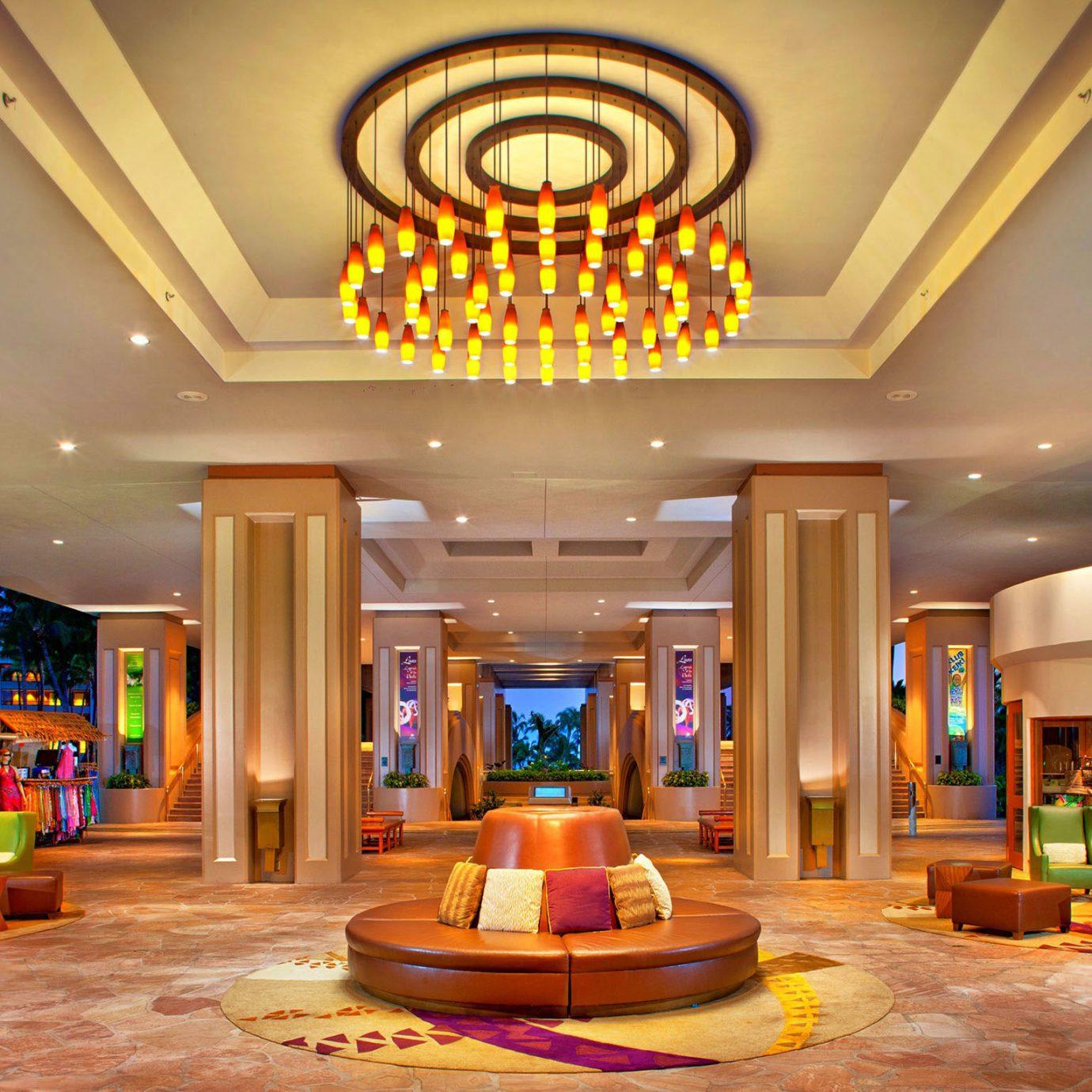 Lobby home function hall living room mansion ballroom recreation room Resort