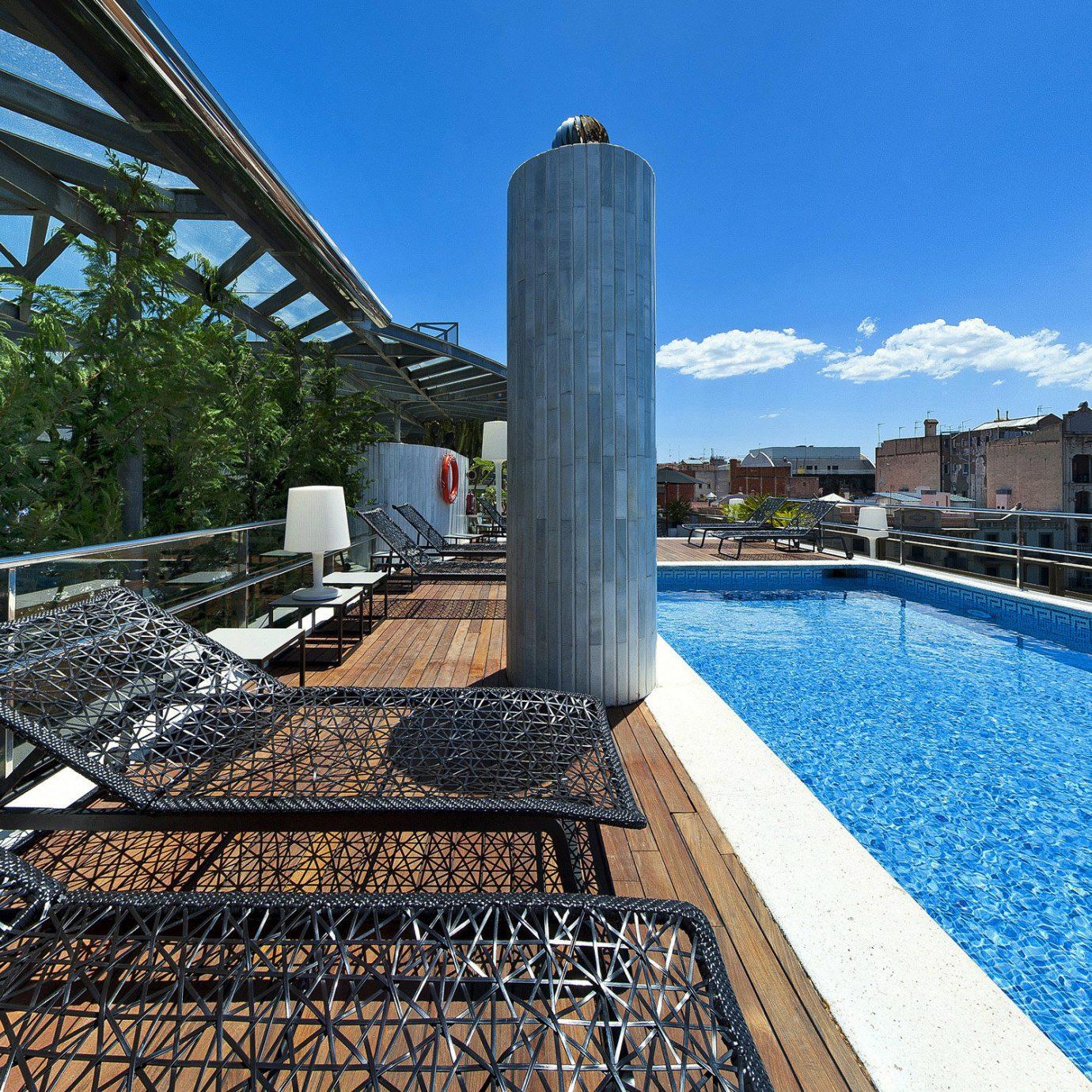 Lounge Luxury Modern Pool swimming pool walkway Resort dock Sea