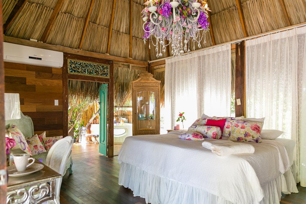 Hotels indoor room floor property estate bed curtain interior design Resort home cottage mansion decorated Bedroom furniture