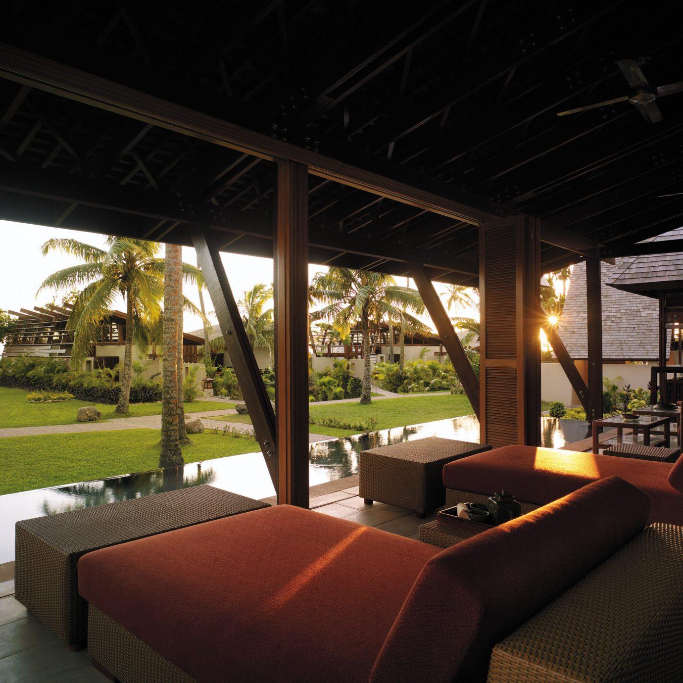 Luxury Romantic Spa Tropical property house home Resort Villa restaurant living room