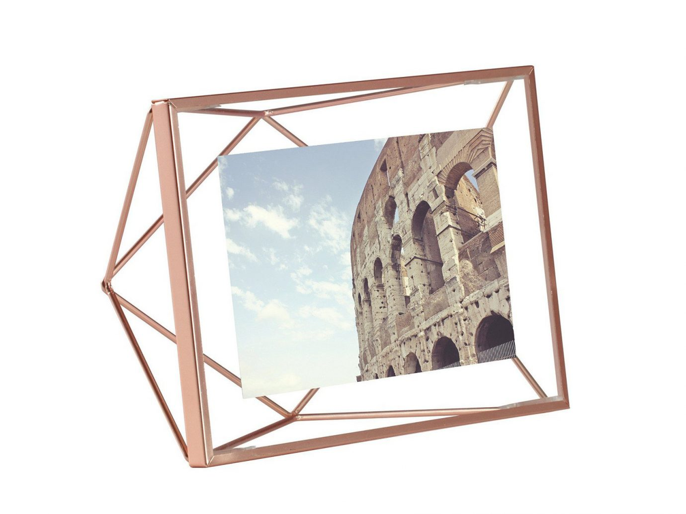 Style + Design picture frame product lighting wood rectangle cage