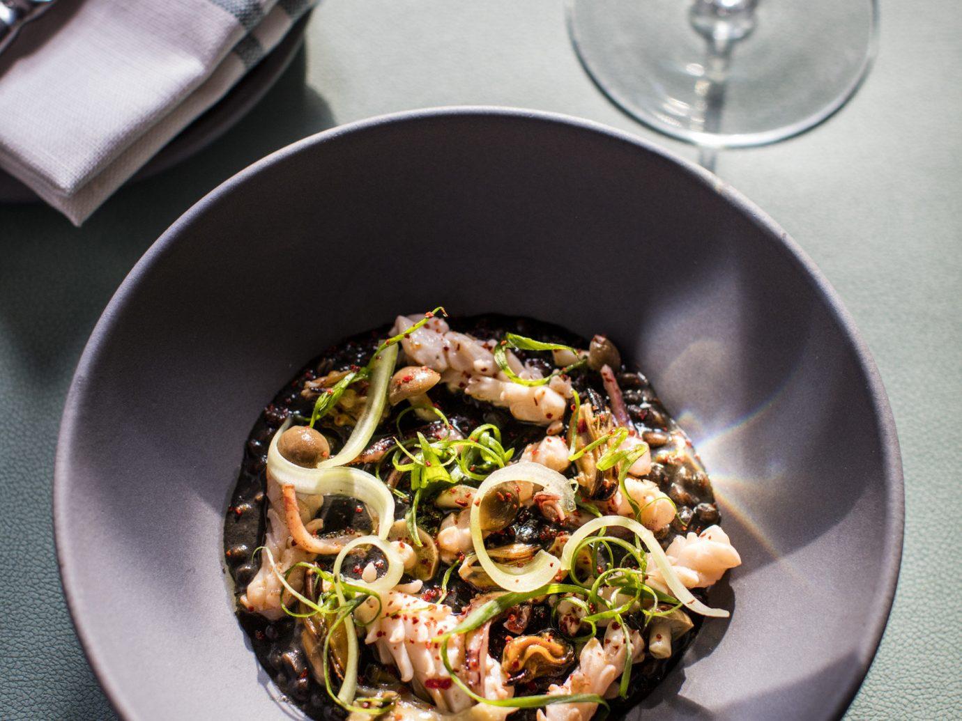 NYC Trip Ideas plate table food dish cuisine vegetarian food italian food european food vegetable recipe spaghetti leaf vegetable meal meat saute