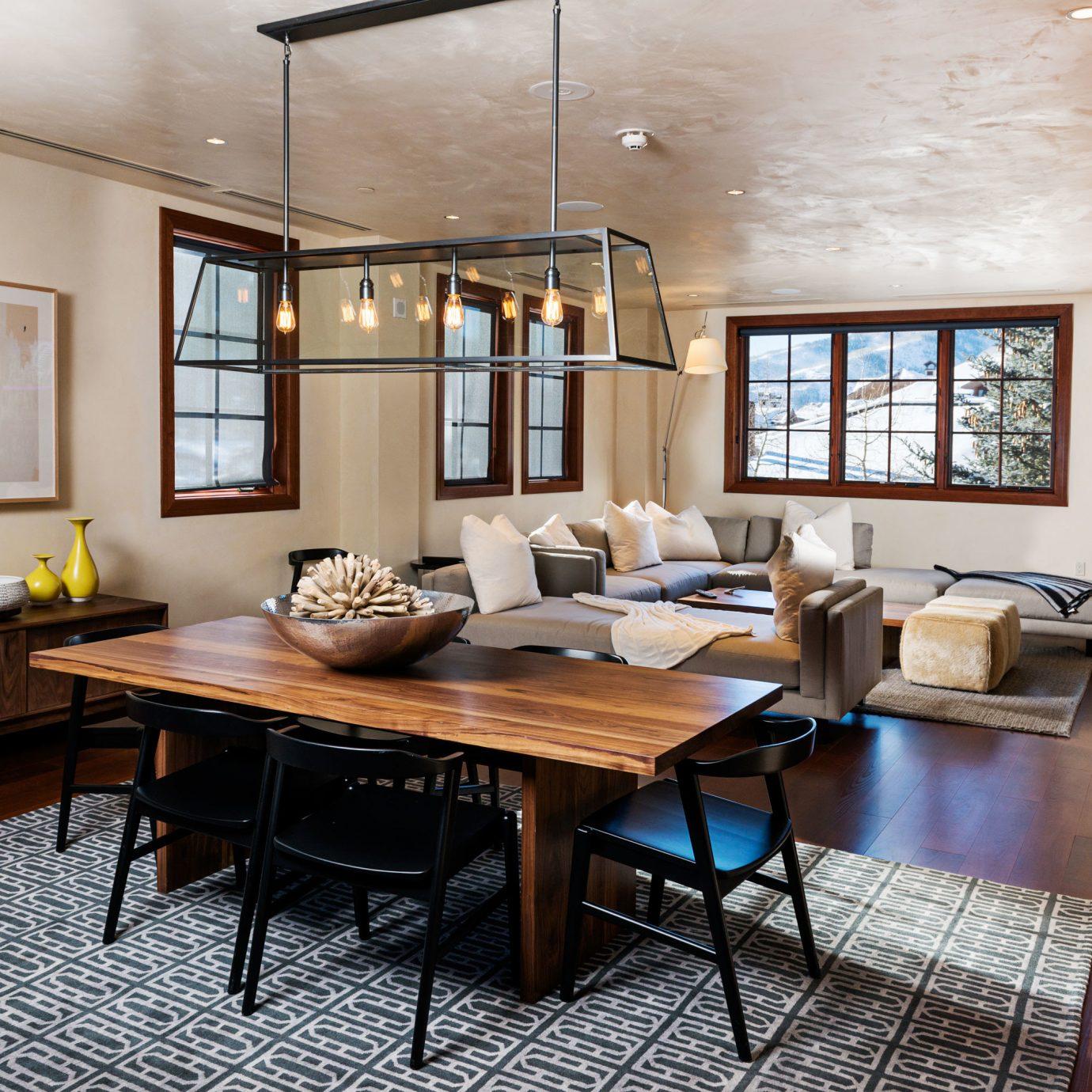 Modern Mountains Outdoors Ski property living room home hardwood wooden condominium wood flooring